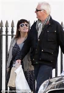 dawn french and husband mark bignell run errands in london