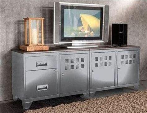 promo meuble tv meuble de t 233 l 233 vision m 233 tal alu phsa prix promo meuble tv la redoute 429 00 la redoute