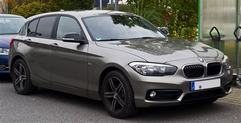 Bmw 1er F20 Wikipedia by Datei Bmw 118i Sport Line F20 Facelift Frontansicht