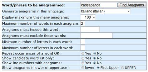 anagrammi lettere generare e risolvere anagrammi ecco qualche fonte