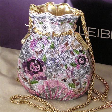 Judith Lieber Glisten Floral Purse by 1000 Images About Judith Leiber Handbags On