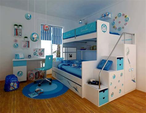 Boys Bedroom Design by Boys Bedroom Decorating Ideas With Bunk Beds Room