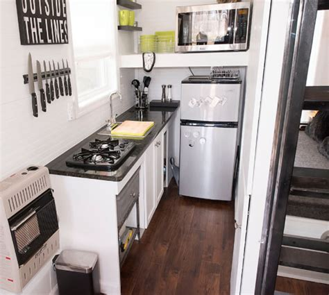 Tiny House Kitchen Cabinets Kitchens Moon Tiny Shelters