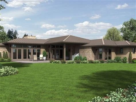 modern ranch style house plans modern ranch style house plans