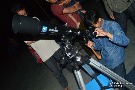 Telescope Anak Anak bermalam minggu bersama anak anak home schooling kafe
