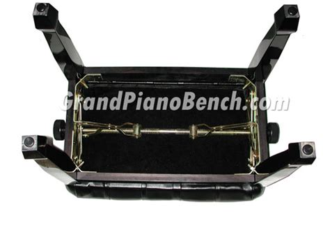 piano bench hardware adjustable piano bench pillow top