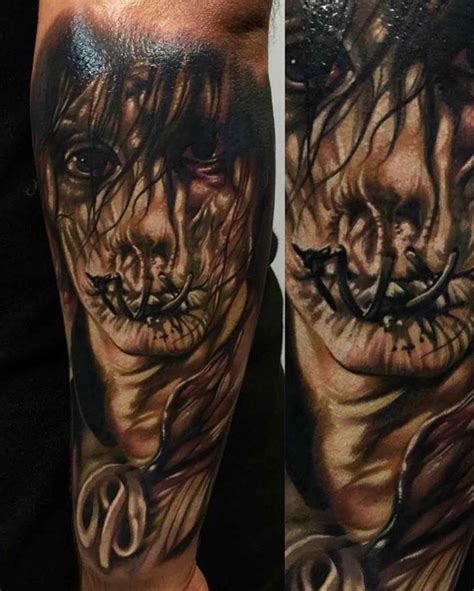 small horror tattoos billy butcherson from hocus pocus best ideas gallery