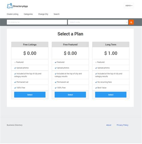 Directoryapp 2018 Business Directory By Xphp Codecanyon Directory App Template