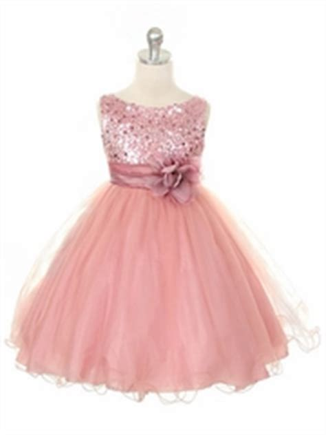 Dhanny Virna Dusty Pink Ay blush sequined bodice w tulle skirt sash