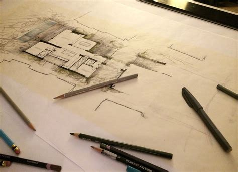 Custom Home Building Plans time lapse design a hand rendered floor plan myd blog