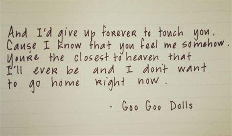 Wedding Song Goo Goo Dolls by Best 25 Song Lyrics Ideas On Song