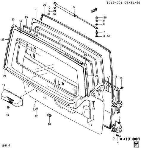 online service manuals 1997 geo tracker spare parts catalogs service manual 1995 geo tracker rear door interior repair 1989 geo tracker suv overstock