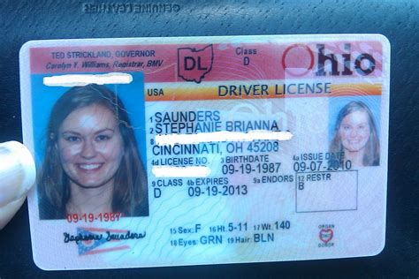 ohio drivers license template ohio drivers license number generator