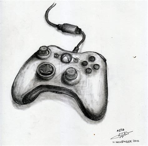 Drawing Xbox Controller by Xbox Controller By Astoadip On Deviantart