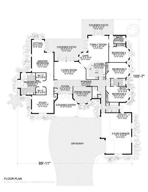 ranch 2300 sq ft house plans pinterest house plans 71 best house plans 2300 3500 sqft images on pinterest