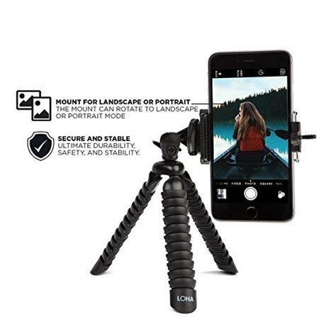 Tripod Gorilla Kamera Smartphone Hp Large Universal loha tripod holder for iphone samsung galaxy and other smart phone brands with