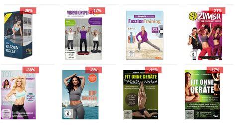 Fitness Dvds Billig Bei B 252 Cher De Workout F 252 R Zu Hause