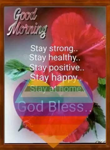 stay  home stay safe video   good morning