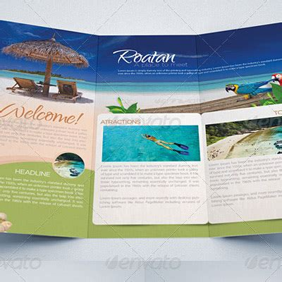 %name 4 fold brochure template   Tri Fold Brochure Mockup Template   Medialoot