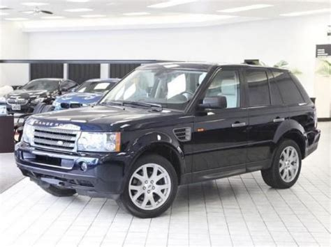 used range rover indianapolis sell used 2008 land rover range rover sport hse in 5350 n