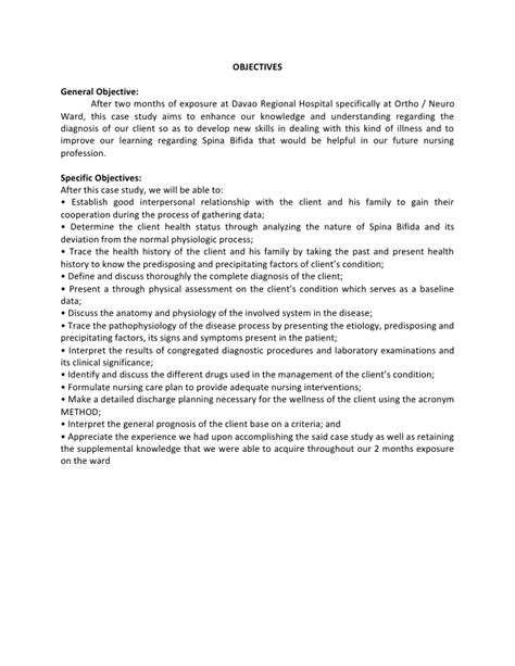 sle study report child development study template child development