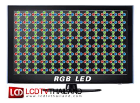 Rgb Tv Sharp led tv vs lcd tv แตกต างก นอย างไร อะไรด กว าก น