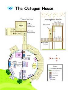 octagon cabin floor plans octagon house plans build yourself the octagon house is