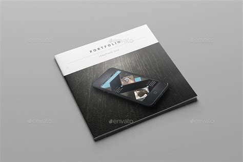 print portfolio template multipurpose square portfolio by meenom graphicriver