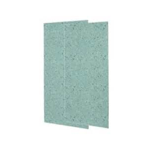 shower wall panels home depot swanstone 1 4 in x 36 in x 96 in two easy up