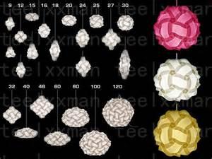 Diy L Shade Modern Iq Puzzle L Shade Jigsaw Pendant Fixture Diy 30 Pieces 3 Size U Chose Ebay