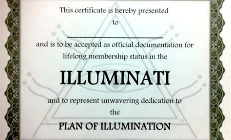 illuminati membership the illuminati can not exist