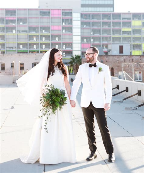 Wedding Shoes Los Angeles by Modern Los Angeles Rooftop Wedding Zach Green