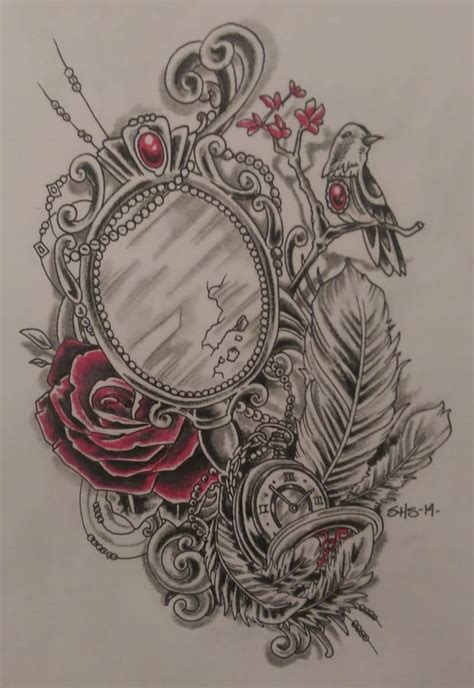 mirror tattoo designs mirror designs www pixshark images