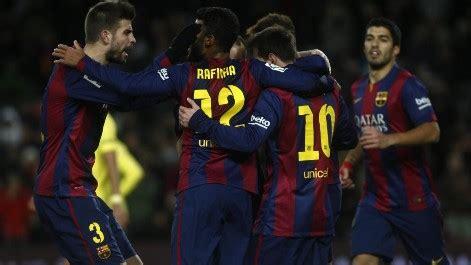 barcelona vs villarreal resumen goles y resultado
