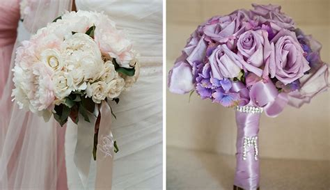 Wedding Bouquet With Ribbon wedding ideas beautiful ways to use ribbon in d 233 cor