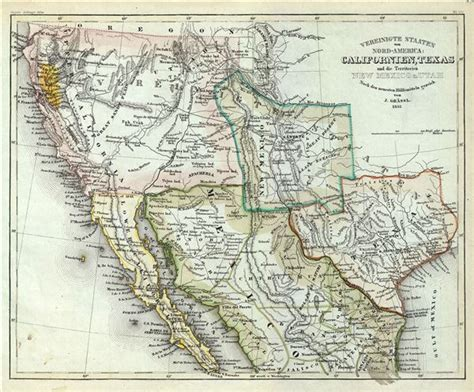 early texas map antique maps of california antique maps
