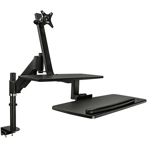 sit stand desk mount mount it mi 7901 sit stand desk mount for single mi 7901 b h