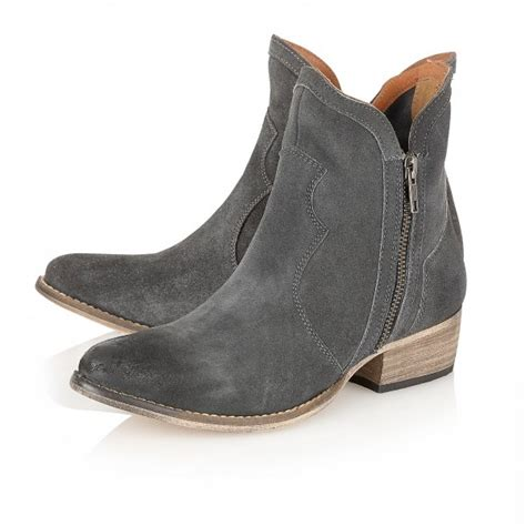 ravel ankle boots grey suede ravel from ravel uk