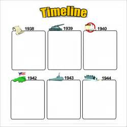 templates for children blank timeline template 6 free for pdf