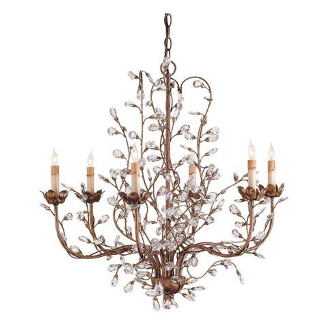 Enchanted Forest Crystal Bud 6 Light Chandelier Kathy Forest Chandelier