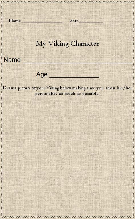 viking writing template 40 best images about vikings on activities