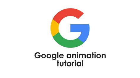 tutorial after effects logo animation google logo animation after effects tutorial youtube