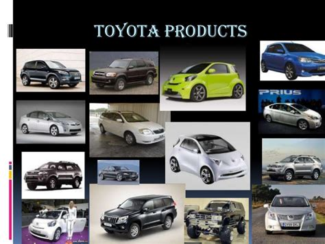 toyota products eco toyota ppt copy