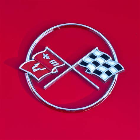 1962 chevrolet corvette emblem 2 by reger