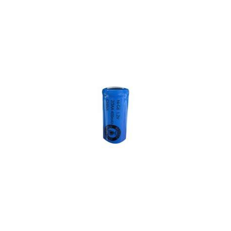 Motorrad Batterie 9v by Batterie Nicd 2 3 Aa 400 Mah Flachkopfbatterie 1 2v