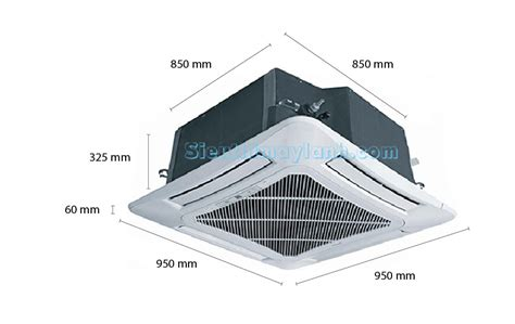 Ac Cassette Sharp Sharp Ceiling Cassette Ac Gx A42ucw 5 0hp 3 Phase