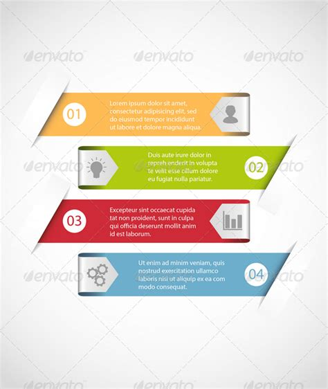 Decorative End Tables Simple Infographic Template Graphicriver