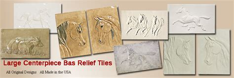 1 Inch Tick Ceramic Tile - bas relief ceramic tiles