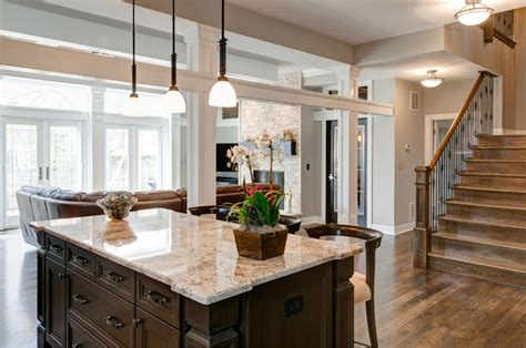 Prairie Style Kitchen Cabinets by Modern Unity A Traditional Craftsman Style Home