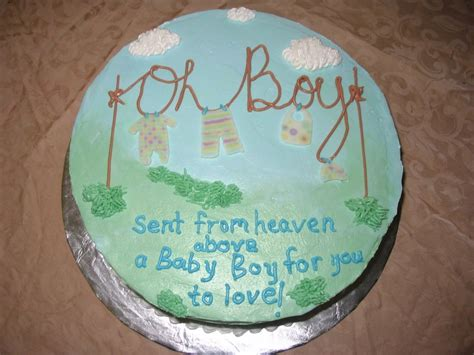 What To Write On Cake For Baby Shower by Baby Boy Cakes For Birthday Birthday Cake Decoration